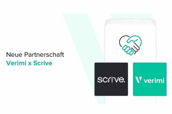 Scrive Verimi Partnerschaft
