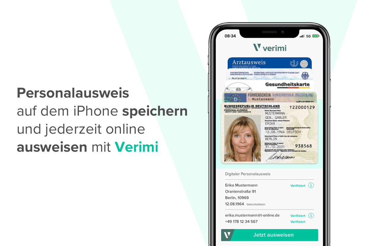 Personalausweis Iphone